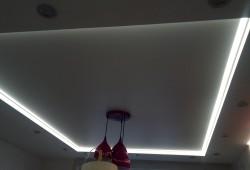 LED подсветка потолка