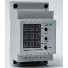 Реле захисту мережі трифазне ADECS ADC-0132-10,10 А