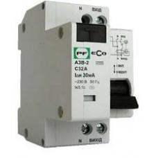 Дифференциальный автомат АЗВ-2 1P+N C16A/0,03A