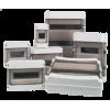Серія FKV-O7, пластикові вологозахищені щитки, IP 54, IP65 до 54 модулів