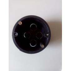 Коробка установочна (підрозетник) д60 пластик універсальна (гіпс / бетон)