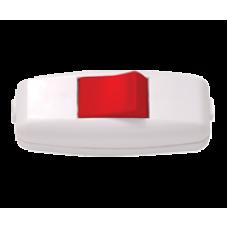 Выключатель промежуточный белый-красный