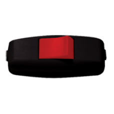 Выключатель промежуточный черный-красный