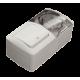 Клавишный выключатель + Розетка с заземляющим контактом, с крышкой EL-BI EVA IP54