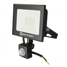Прожектор LED  20W 220-240V 6000K с датчиком движения
