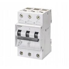 Автоматичний вимикач 5SX23 B10  А, 3полюс, хар-ка B SIEMENS