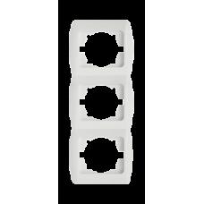 Рамка тройная вертикальная EL-BI ZIRVE