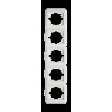 Рамка пятерная вертикальная EL-BI ZIRVE